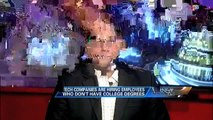 High-Paying Tech Jobs Without a College Degree - Ari Zoldan on Fox Business with Stuart Varney