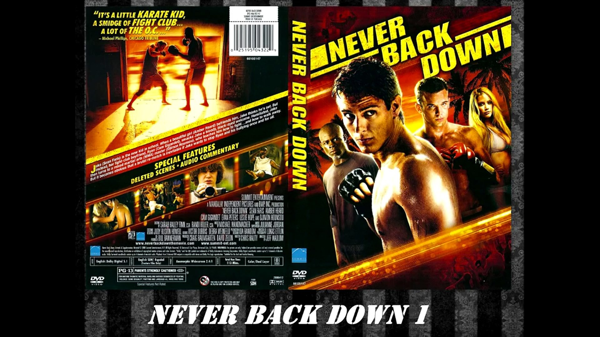 Never Back Down 1 y 2 Motivation HD