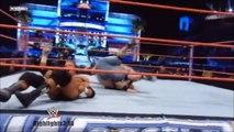 John Cena vs. Randy Orton vs. Triple H Highlights - HD Wrestlemania 24