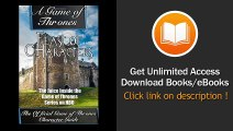 [Download PDF] A Game of Thrones Feast of Characters - The Juice Inside the Game of Thrones Series on HBO