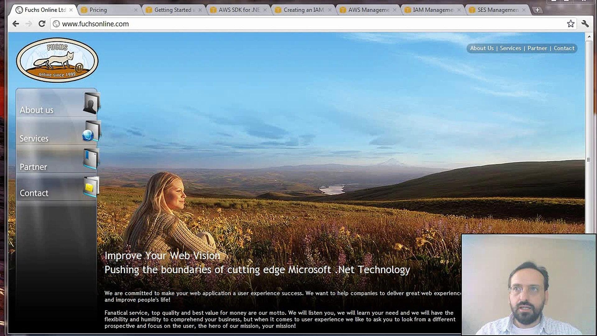 Send Email Using the Amazon SES API .Net SDK C# (Amazon Web Services Simlple Email Service)