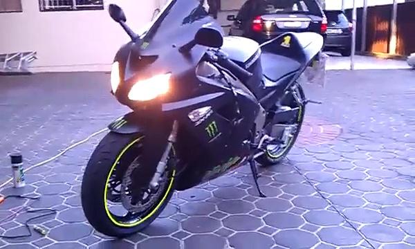 Kawasaki zx2r
