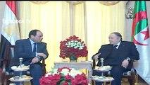 Algérie - Egypte Abdelaziz bouteflika reçoit Abdel Fattah al-Sissi Le président égyptien  25/06/2014