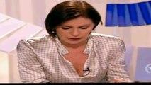 Bianca Berlinguer TG3  fuori di seno