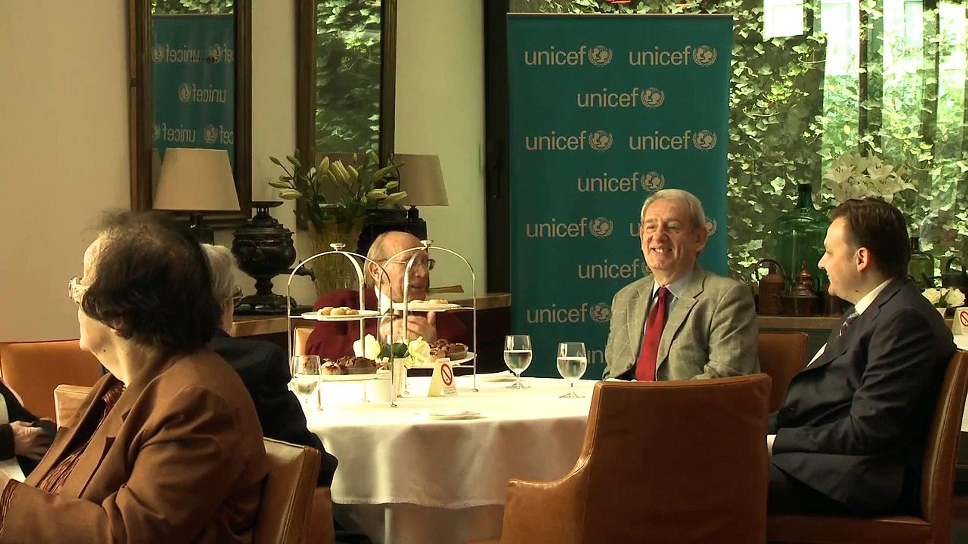 Saša Đorđević i prijatelji UNICEF-a u Srbiji