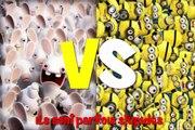 Minions VS Lapins crétins ! qui est le plus idiot ?