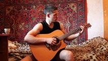 (Bon Jovi) Livin on a prayer (Acoustic guitar Cover)