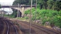 De Villeneuve St Georges à Aulnoye en train en cabine (1)