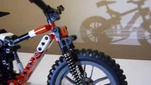 Lego Technic Specialized Safire Mountain Bike Model - MTB bicycle - building instructions