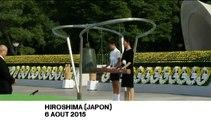 70 ans après la première bombe nucléaire de l'histoire, Hiroshima se recueille
