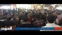 مظاهرات معارضة للإعلان الدستوري في محافظة اسيوط