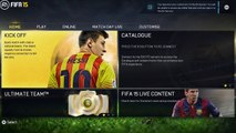 EA SPORTS Fifa 15 Main Menu interface review + Game modes [PS4/XBOX ONE]