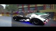 Batman Batmobile Cars 2 Disney Pixar Lightning Mcqueen Play Doh Superhero Toy Car Video