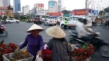 2014   Saigon Ben Thanh Market Street View Ho Chi Minh City Vietnam