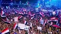 اقوى تقرير من قناة الجزيرة عن مظاهرات تأييد الرئيس مرسى فى كل محافظات مصر