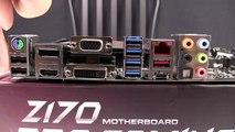 ASUS Z170 Pro Gaming Motherboard | Intel Skylake i5 6600K