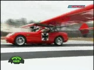 Jesse James Monster Garage Flying Car