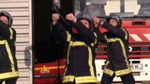 Flash mob des pompiers de Nuits saint Georges - Flashmob firefighters Nuits Saint Georges