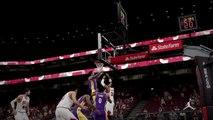 NBA 2K15 PS4 1080p HD Los Angeles Lakers-@Chicago Bulls Mejores jugadas