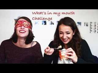 What's in my mouth challenge !