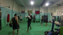 Thaichung Muay Thai, Trying out a local Muay Thai club in Thaichung city, Taiwan.
