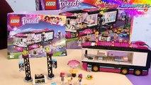 Pop Star Tour Bus / Wóz Koncertowy Gwiazdy Pop - Lego Friends - 41106 - Recenzja
