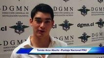 Entrevista a Tomás Arce Aburto - Puntaje Nacional Matemáticas PSU