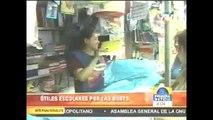 Reportaje ATV Noticias - mafia que se teje tras la venta de libros en ciertas editoriales.