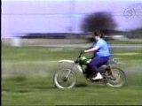 Chute Moto Cross