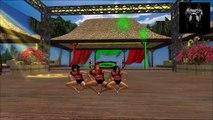 Rheinbeat - Cartoon Girls Reggae Dance - Drum and Bass - 2014