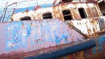 "Schiffswrack - Geisterschiff ""Poseidon"" / Ship wreck - Ghost ship ""Poseidon"""