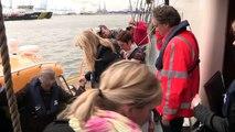 Opening Maasvlakte 2 door minister Schultz van Haegen