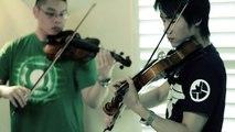 TRON: LEGACY (DAFT PUNK) - Nocturne (Violin & Piano Trio) ft. HarbingerDOOM & Tuelhinha