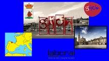 """Mer Cantabrique 2015. GIJON(Asturies). Part 15. La """"LABORAL"""" cité de la Culture (Hd 1080)"""