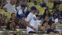 SD@LAD: Dodgers fan grooves to Beyonce in the stands