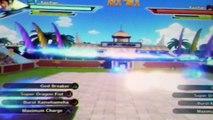 Dragonball Xenoverse Burst Kamehameha glitch/Gohan's Transformation