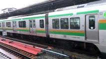 【3DFHD】JR東日本 E231系&233系 上野東京ライン発着 上野7番のりば('15.7.4朝)