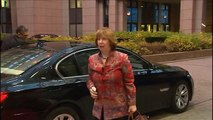Foreign Affairs Council arrivals  Arrival and doorstep by Catherine ASHTON