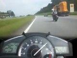 Yamaha R1 Going ~320Km_h Top Speed