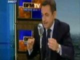 Sarkozy piégé par BFM TV SARKO SARKOSY