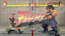 Ultra Street Fighter IV battle: Cammy vs Hugo