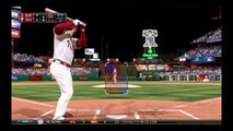 MLB 15 The Show and he throws it into the crowd