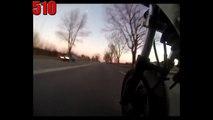 Yamaha FJ 1200 Tries To Outrun Police