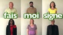 Apprendre la langue des signes LSF : la politesse merci pardon s'il vous plaît politesse