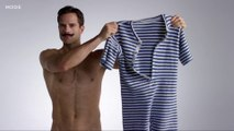 Girls here are the men swimsuits worn in the last 100 years - 100 Years of Men's Swimwear in 3 Minutes
