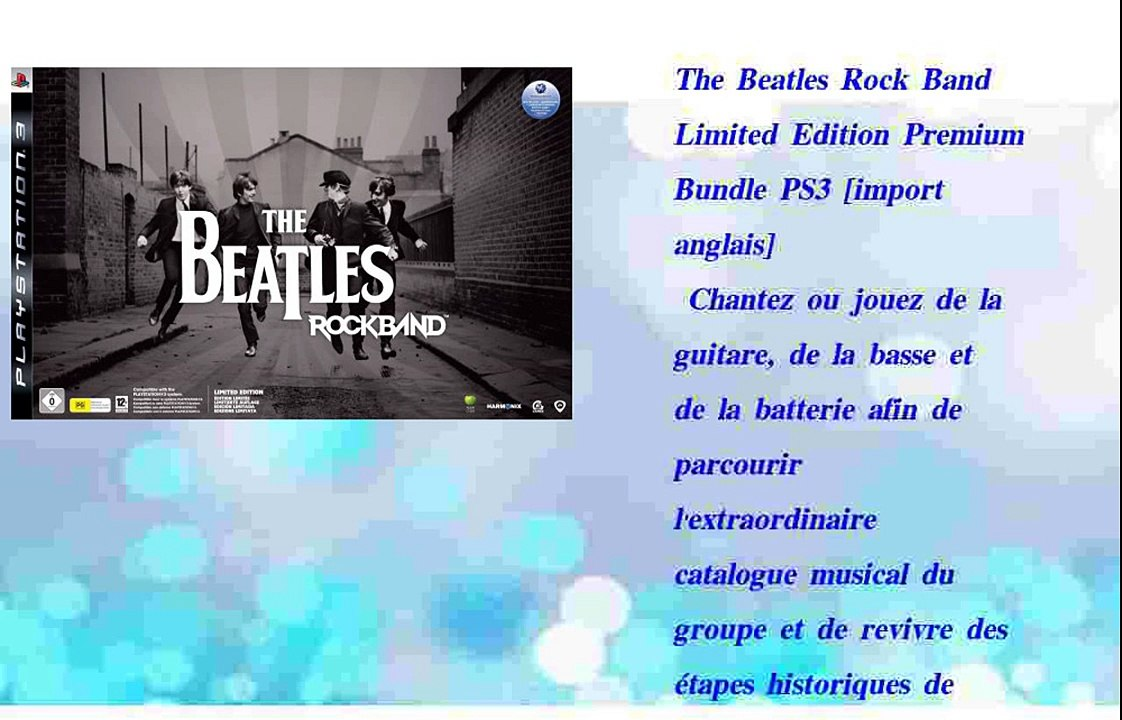 The Beatles Rock Band Limited Edition Premium