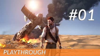 [Playthrough] Uncharted 3 - PS3 - 01