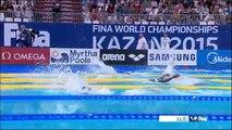 Une nageuse de 10 ans aux championnats du monde de natation (Kazan 2015)