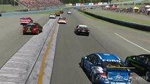 iRacing - Pileup into Watkins Glen T2