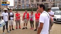 Tour de France en caravane de la Croix-Rouge pour enseigner les gestes qui sauvent